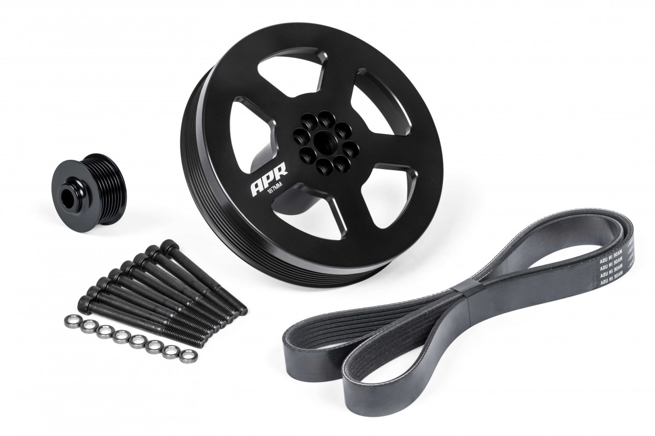 3.0 TFSI Supercharger Drive / Crank Pulley
