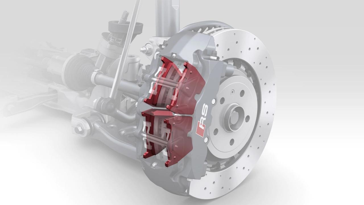 Bremsbeläge RS3 8V