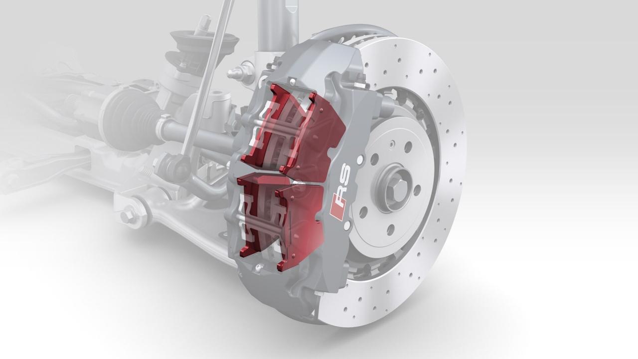 Bremsbeläge TTRS 8S / RS3 8V