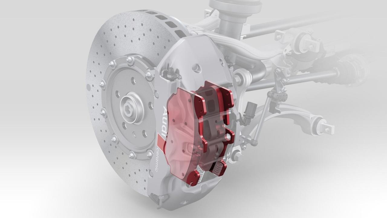 Bremsbeläge mit Titanrückenplatte R8 4S